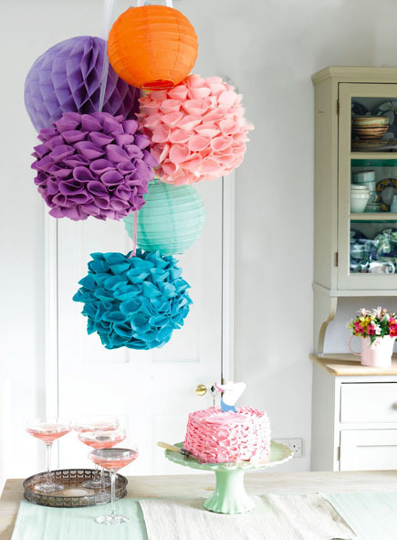ideas and tips for hosting a craft party