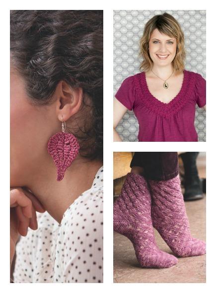 choosing yarn colors, brett bara