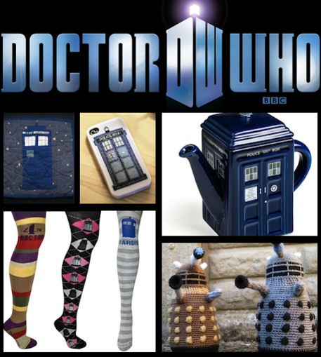 Doctor Who Gifts and Crafts