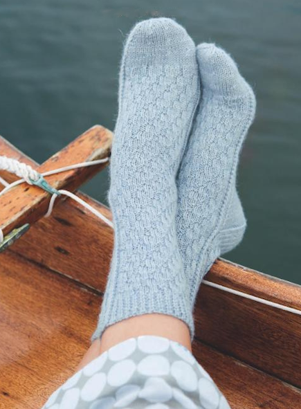 Knitting Socks on Straight