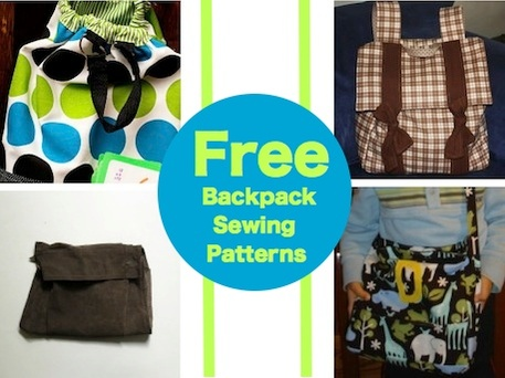 Free Backpack Sewing Patterns