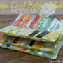Mega Credit Card Wallet (Free Sewing Pattern)