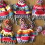 Sock Monkey Knit Hat