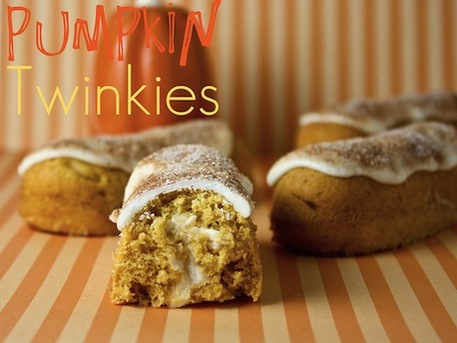 Pumpkin Twinkies Recipe
