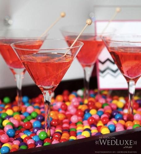 Bubblegum Martinis