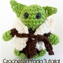 Crocheted Yoda Doll (Free Amigurumi Pattern)