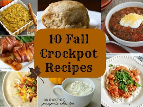 10 Crockpot Recipes for Fall