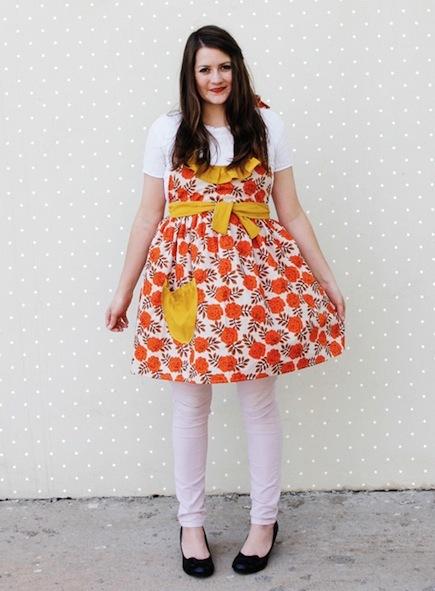 Sew a Ruffled Apron (Free Pattern)