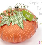 Fall Paper Pumpkin Tutorial