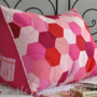 Patchwork Hexie Reading Pillow (Sewing Pattern)