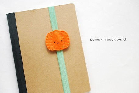 Pumpkin Bookmark Sewing Tutorial