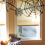 Crafty and Cheap Trash Bag Halloween Decorations