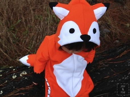 DIY Fox Costume for Kids