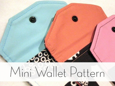 Free Wallet Sewing Pattern for Beginners
