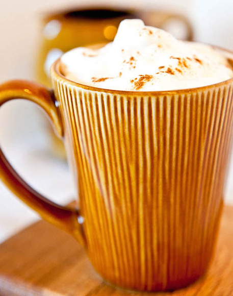 diy pumpkin latte