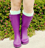 Knit and Crochet Boot Cuff Patterns