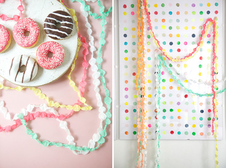 Beaded Crepe Paper Tutorial