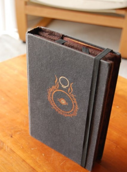 A Lord of the Rings inspired Kindle cover