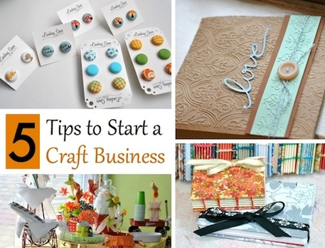 5 Tips for Starting a Crafty Business as a Mom