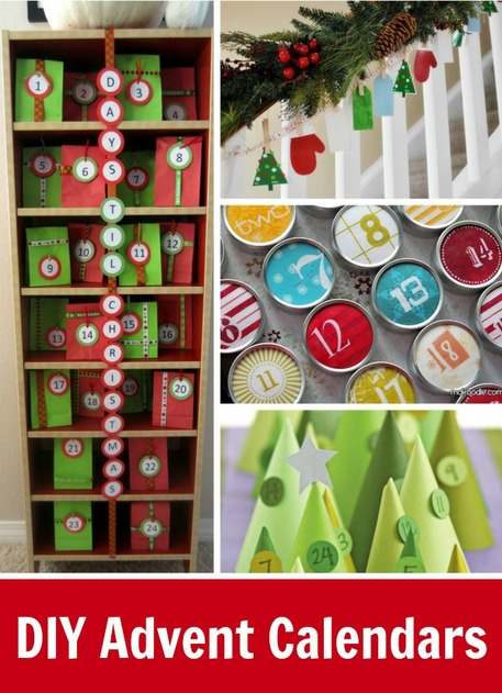 DIY Advent Calendar Roundup