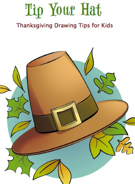 Draw a Pilgrim Hat