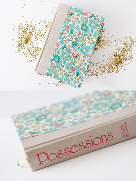 Upcycled Book Zippered Clutch Tutorial
