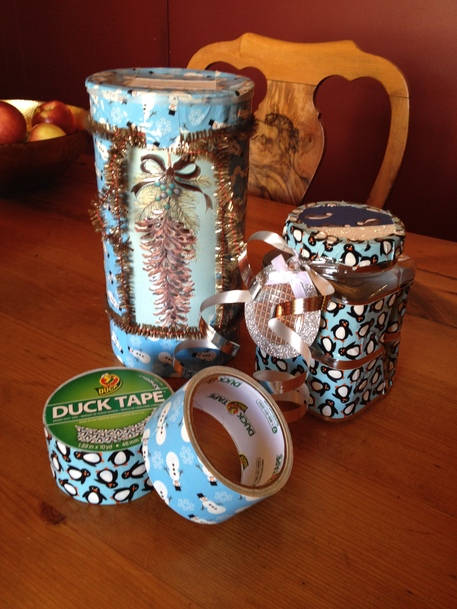 Upcycled Duck Tape Gift Container Tutorial