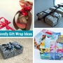Upcycled and Recycled Gift Wrap Ideas