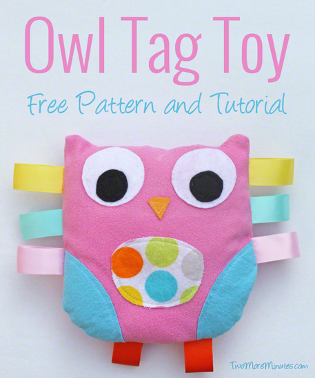 Owl Tag Toy — Free Sewing Pattern - Craftfoxes