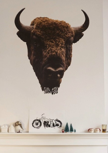 Unique Home Decor - Handmade Taxidermy Vinyl Wall Stickers