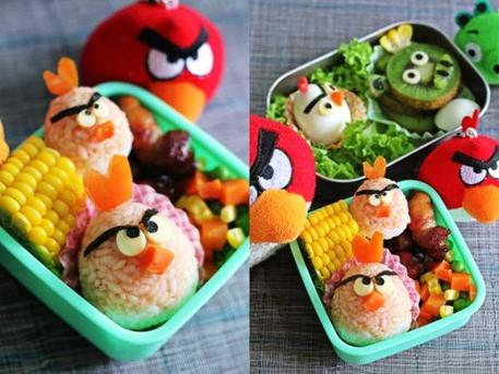video game bento boxes for kids