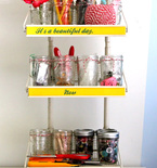 5 Great Ideas for Organizing Your Craft Materials