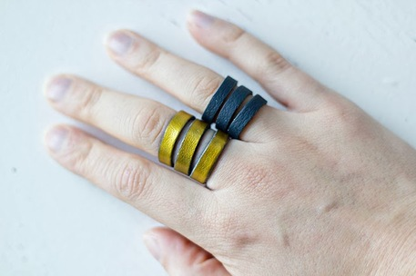 DIY Leather Ring - Making your Own Jewelry
