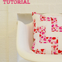Quilted Zig-Zag Pillow Tutorial
