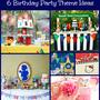 6 Kids' Birthday Party Themes