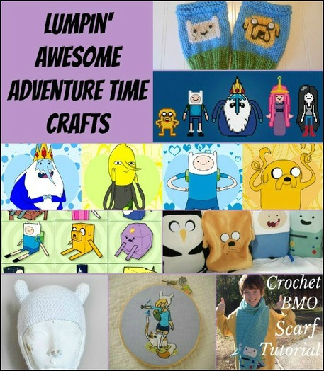 DIY Adventure Time Crafts
