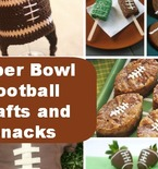 Huddle Up: Super Bowl Snacks and Crafts