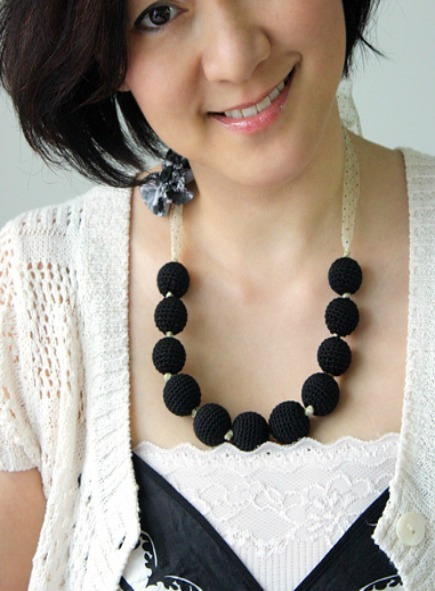 12 Crochet Necklace Patterns