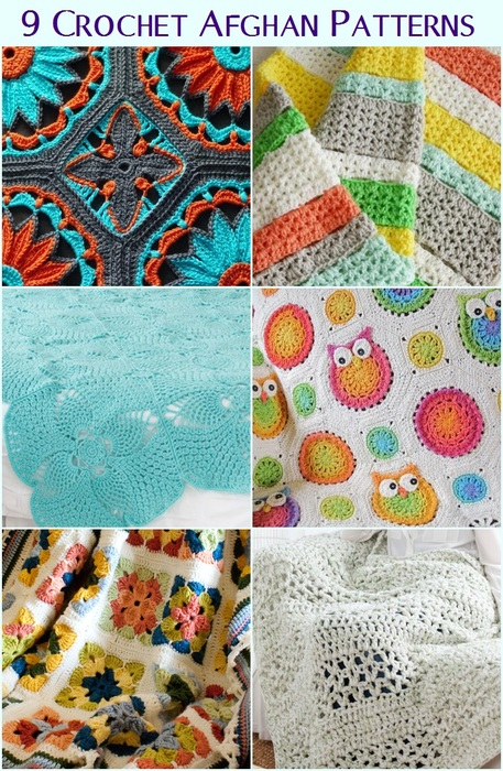 Cozy Crochet Afghan Patterns