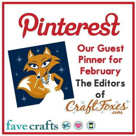 CraftFoxes is Favecraft's Guest Pinner of the Month! Come check out what DIY Home Decor Projects we're pinning!