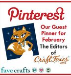 We're Guest Pinning For Favecrafts!