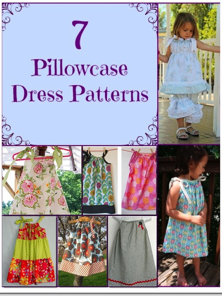 picture about Free Printable Pillowcase Dress Pattern identified as 7 Easy Pillowcase Costume Habits for Females - Craftfoxes