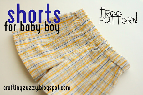 Baby Boy Shorts — Free Sewing Pattern - Craftfoxes