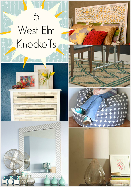 6 West Elm Knockoffs for your Home