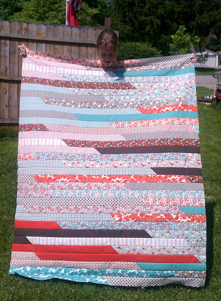 Jelly Roll Quilts You Can Make in a Day
