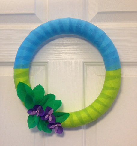 DIY Spring Wreaths and Door Decor