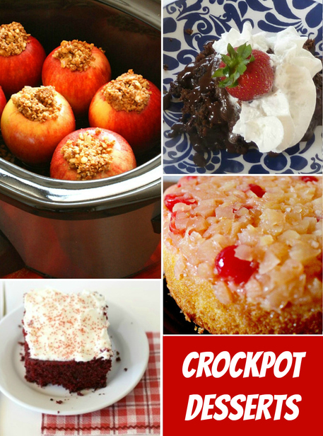 6 Slow Cooker Dessert Recipes