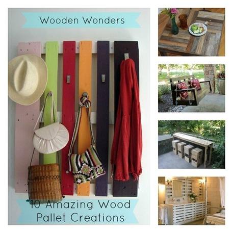 Wooden Wonders – 10 Amazing Wood Pallet Creations