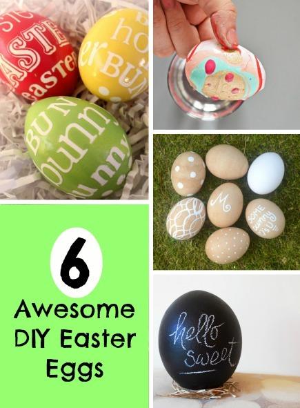 Creative DIY Ideas for Easter Eggs