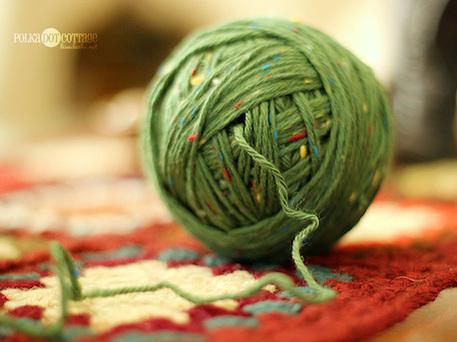 Knitting Tips: Make a Center-Pull Ball